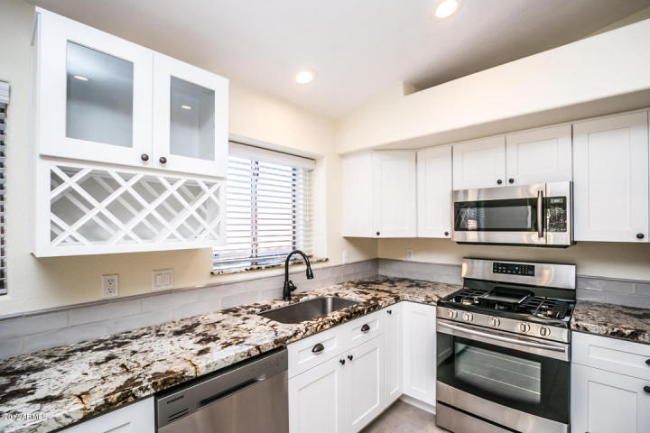 Upper and Lower Cabinets - White